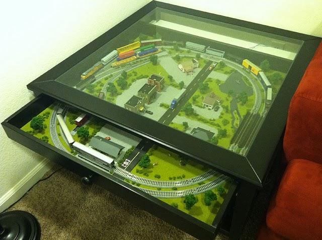 Ikea Hack Liatorp Train Coffee Table