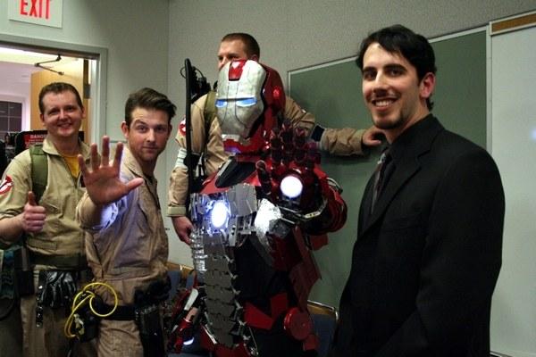 Iron Man Briefcase Armor 2