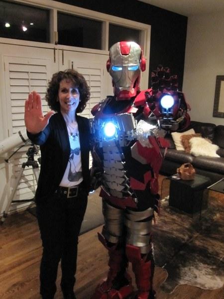 Iron Man Briefcase Armor 4