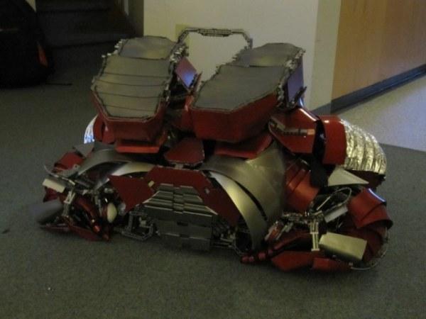 Iron Man Briefcase Armor 5