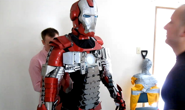 Iron Man Briefcase Armor