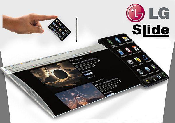 LG Slide Concept Phone 1