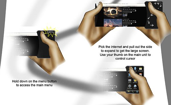 LG Slide Concept Phone 3
