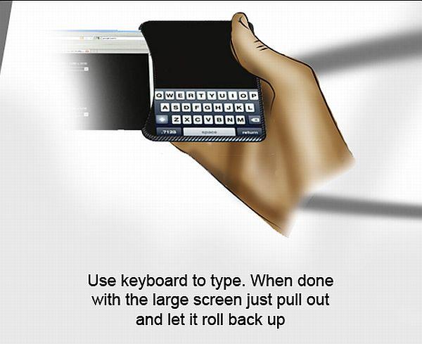 LG Slide Concept Phone 4
