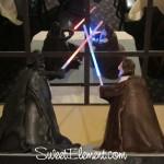 Obi-Wan Kenobi vs Darth Vader Cake 1