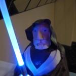 Obi-Wan Kenobi vs Darth Vader Cake 3
