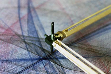 Pendulum Powered Drawing Machine