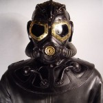 RP 8 Steampunk leather Gas Mask 1