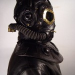 RP 8 Steampunk leather Gas Mask 2