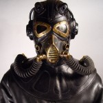 RP 9 Steampunk leather Gas Mask 1