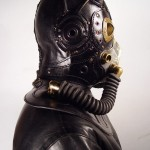 RP 9 Steampunk leather Gas Mask 2