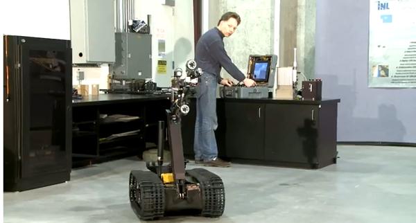 Modified TALON robot