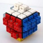 Rubik's Cube + Lego 3