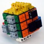 Rubik's Cube + Lego 4