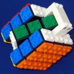 Rubik's Cube + Lego 5