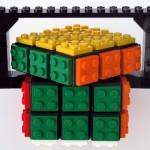 Rubik's Cube + Lego 6