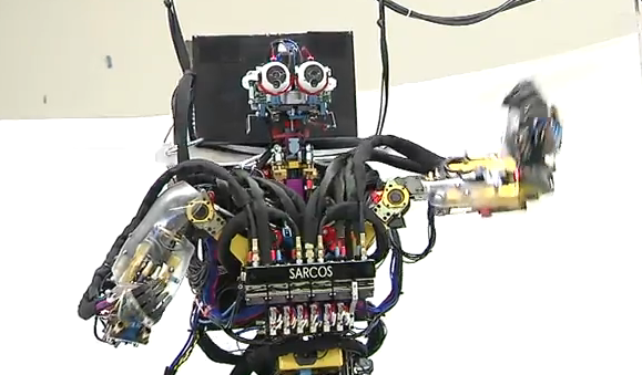 Sarcos Dancing and Balancing Robot