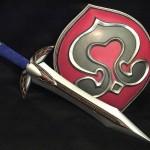 Soul Calibur Cassandra Sword and Shield