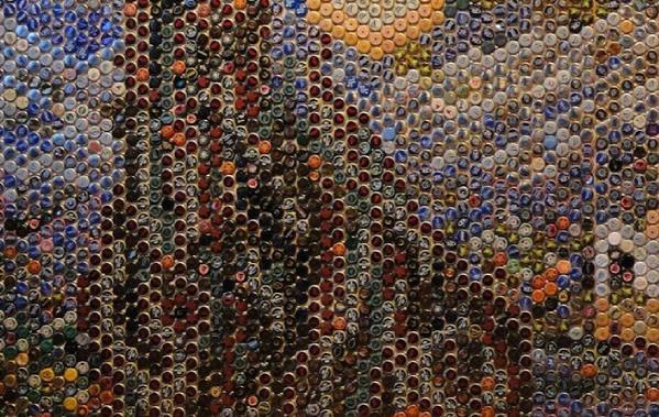 Starry Bottlecaps 2
