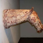 bacon horse head image