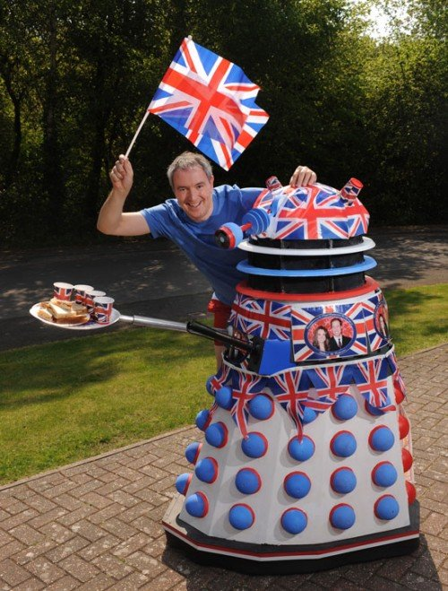 dalek royal wedding makeover