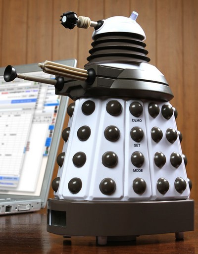 Dalek Clock 01