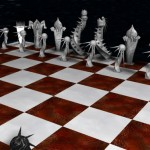 Daunting Chess Board