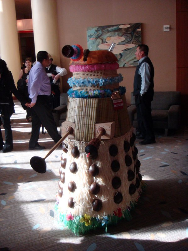 doctor who dalek tiki