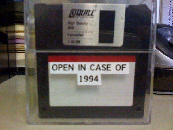 floppy disks 1994
