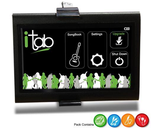 itab electronic song book image