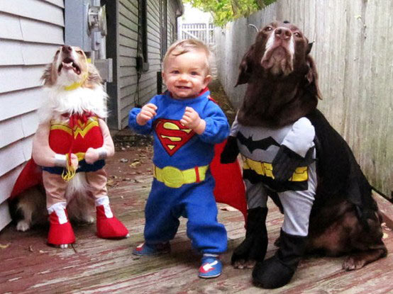 justice league cosplay cuteness
