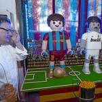 messi vs ronaldo chocolate playmobil