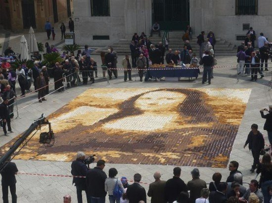 Mona Lisa Mosaic Finished