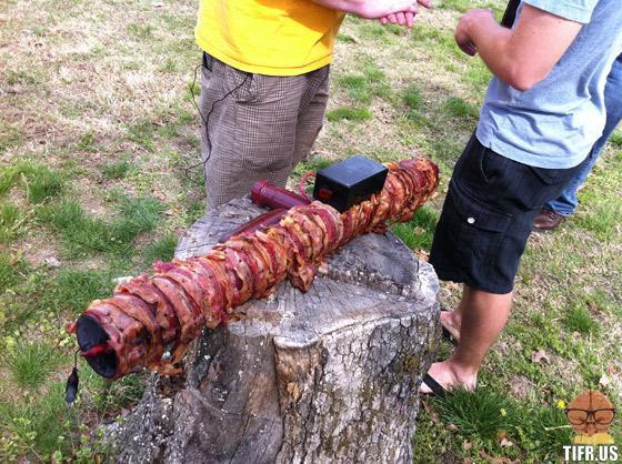 bacon bazooka