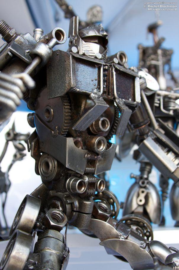 optimus Prime Junk Metal