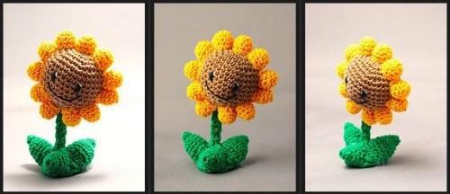 Plants Vs Zombies Crochet Dolls