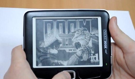 """Pocketbook360 Running """"Doom II"""""""