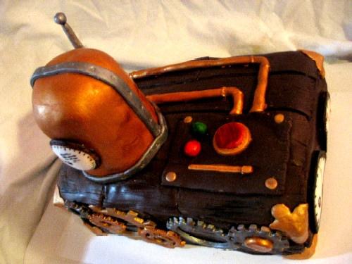 Steampunk Cake 3
