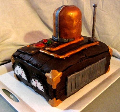 Steampunk Cake 4