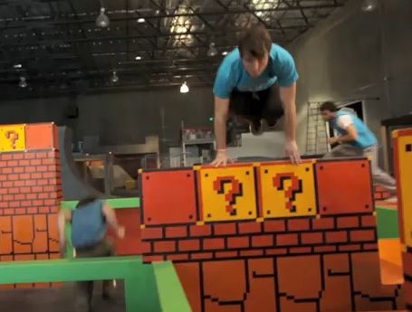super mario world in real life