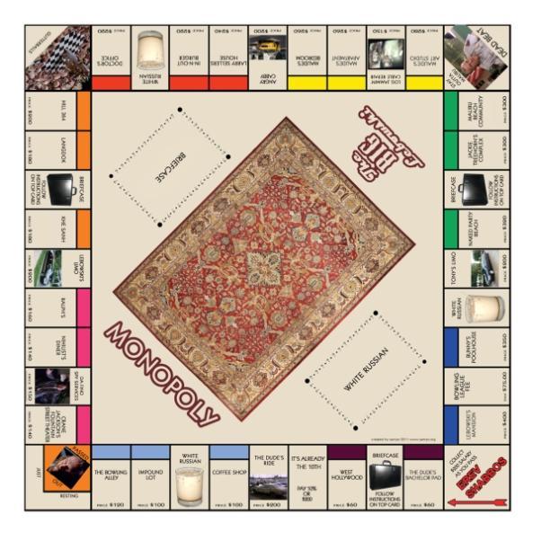the big lebowski monopoly