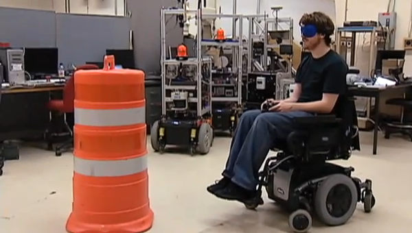 Smart wheelchair research project at Case Western Reserve University