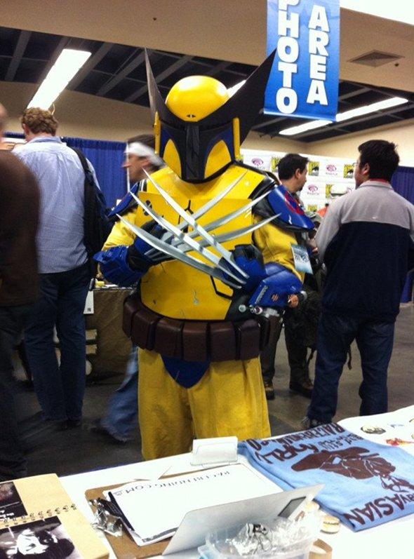 wolverine boba fett cosplay