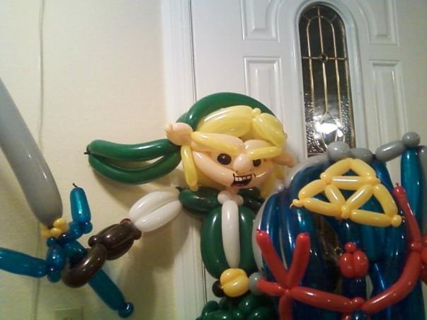link balloon zelda