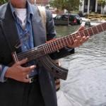 AK 47 Guitar 2