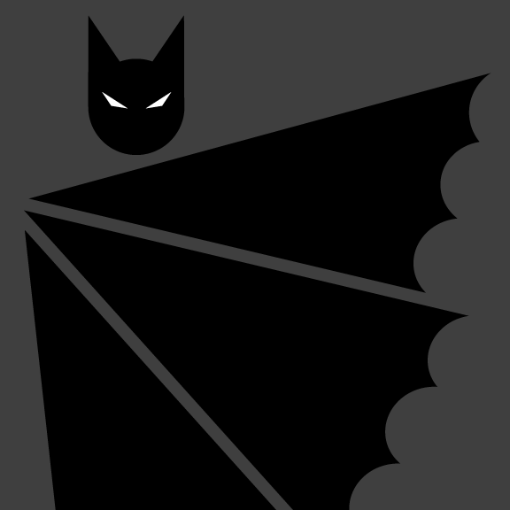 Batman Pictogram