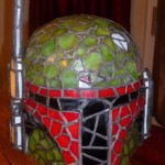 Boba Fett Stained Glass Helmet 1