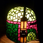 Boba Fett Stained Glass Helmet 3
