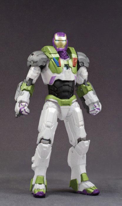 Buzz Lightyear War Machine Figure