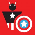 Captain America Pictogram